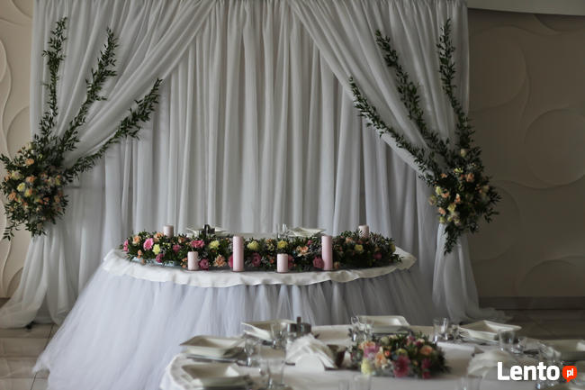 Dekoracje ślubne I Okolicznościowe Wystrój Sali Kościoła Rzeszów