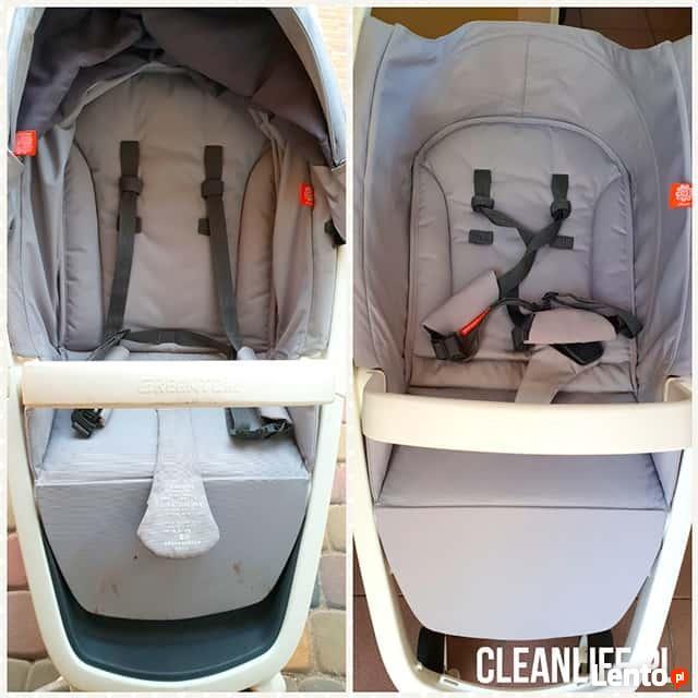 Pranie i czyszczenie wózków dzieciecych / fotelików samochod