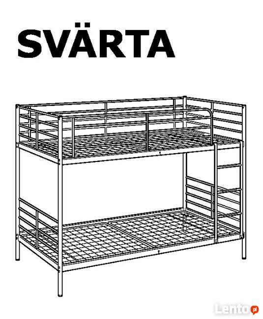 łóżko Piętrowe Ikea łatwy Montaż Pracownicze Hotel Kielce