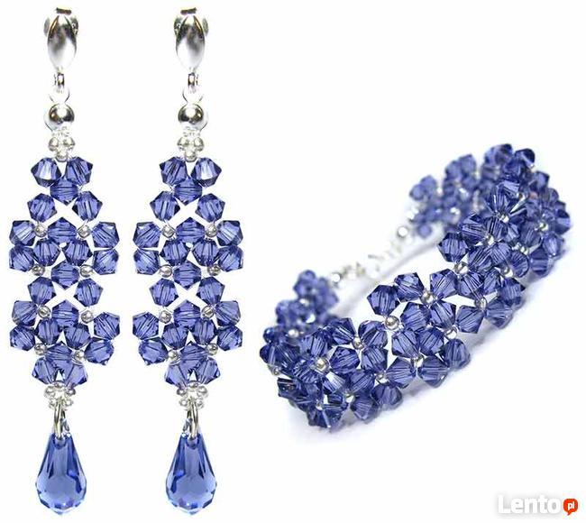 Biżuteria Ślubna Swarovski nowiutki