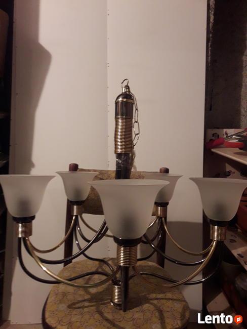 Lampa sufitowa 5 ramienna