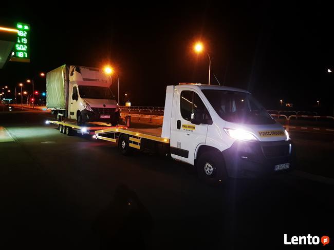 Autolaweta, Pomoc drogowa Leszno, transport pojazdów
