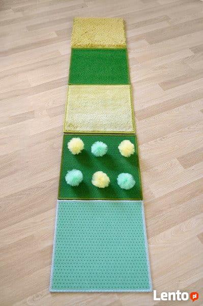 Ścieżka sensoryczna - zielona