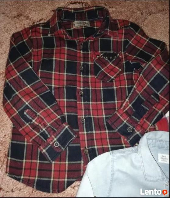 Koszule chłopięce 98 cm ZARA H&M stan bdb+_20 zł/szt