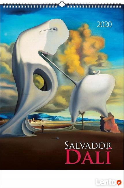 Salvador Dali reprodukcje kalendarz ścienny 2020