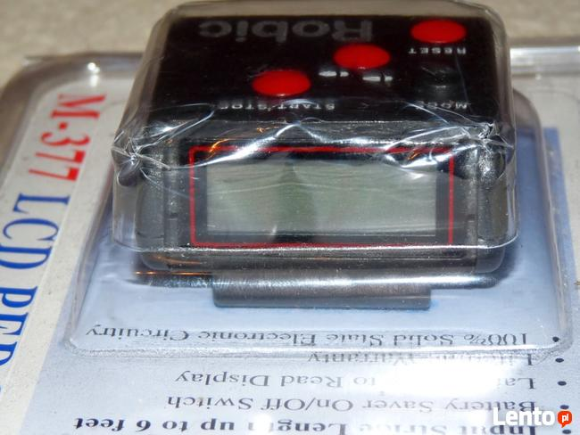 Pedometr, krokomierz z wyświetlaczem LCD, nie działa