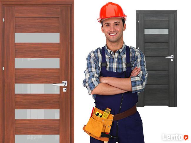 Drzwi wewnętrzne ramiakowe WINDOOR model CREDIS +dostawa za0