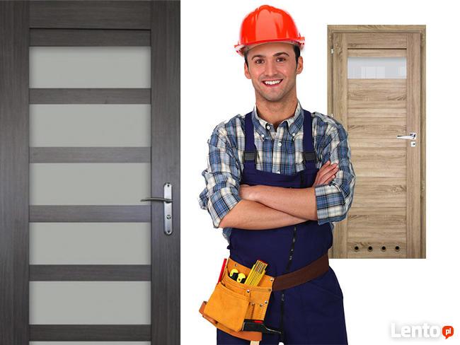 Drzwi wewnętrzne panelowe WINDOOR model JASPER JAKOŚĆ