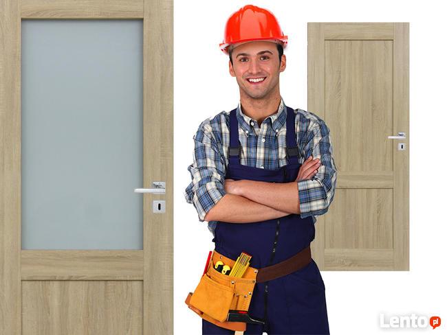 Drzwi wewnętrzne panelowe WINDOOR model CARINA CAŁA POLSKA