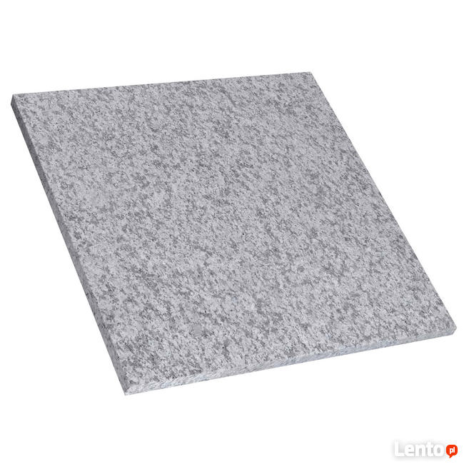 Płytka tarasowa 60x60x2 granit G603 Crystal Grey płomień