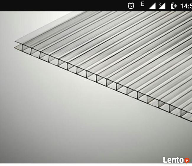 Poliwęglan komorowy 2,10m x 6,00m lub na wymiar