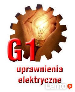 Uprawnienia ELEKTRYCZNE Szkolenie+Egzamin SEP G1