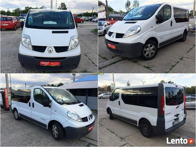 Renault Trafic WYPOŻYCZLNIA BUSÓW 9 os. + 10EP/ cena od 170,00 pln/doba