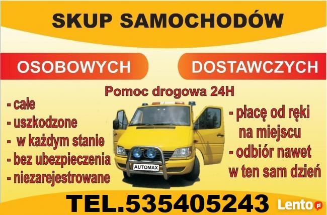 Skup Aut 535405243 Mosty Lębork Złomowanie Aut Łeba, Wicko