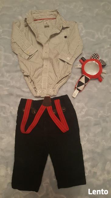 koszulobody + spodnie sztruksowe