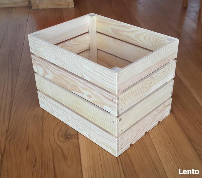 Skrzynki drewniane, szlifowane, nowe 40x30x30cm,