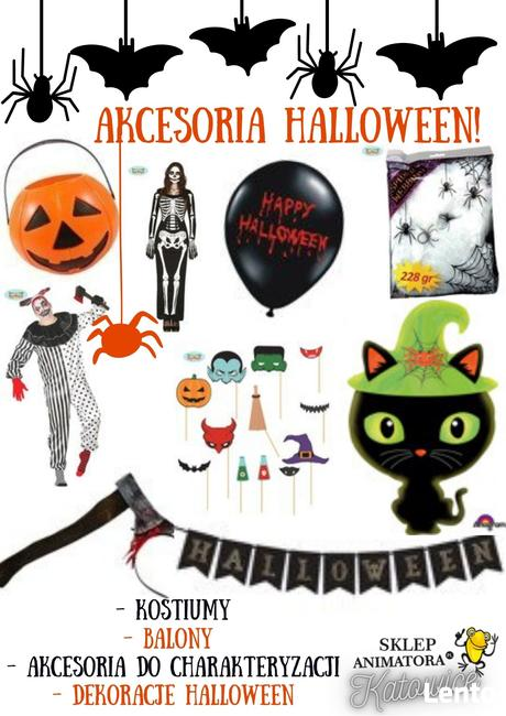 Akcesoria Halloween !