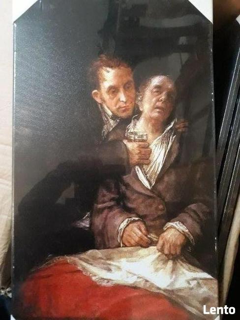 Obraz 35x60 cm ,reprodukcja na płótnie