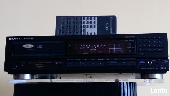Odtwarzacz CD Sony CDP-228ESD
