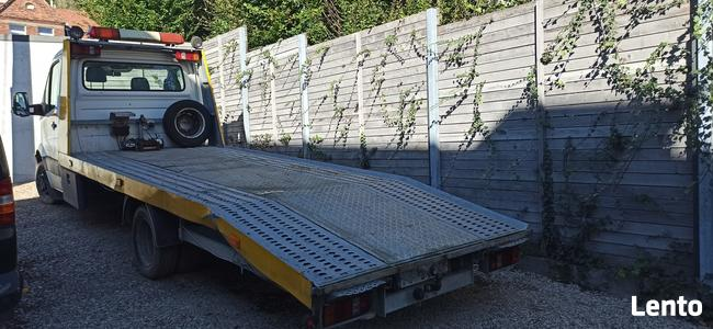 VW Crafter laweta pomoc drogowa