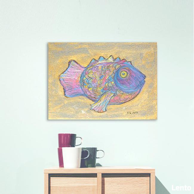 obraz z rybką