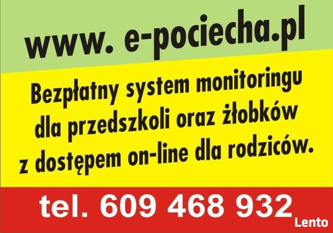 Bezpłatny monitoring dla przedszkoli, żłobków