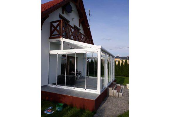 zabudowy tarasów, balkonów, ganków , ogrodzenia