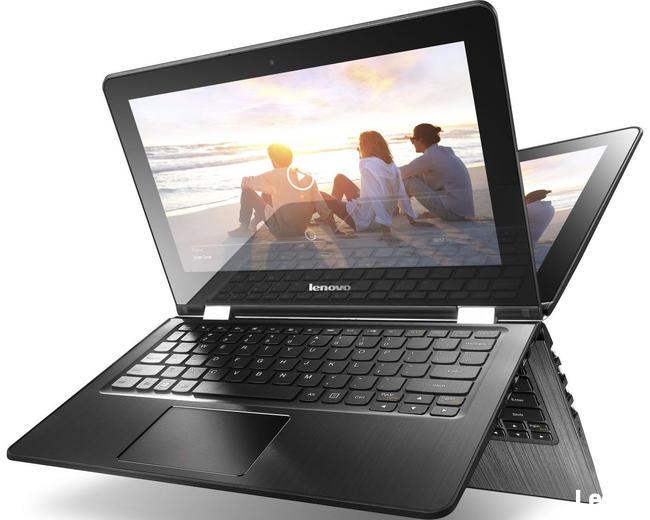 Lenovo Yoga 300 11.6 2.48GHz/2GB/32GB/Win10 sprawny czarny
