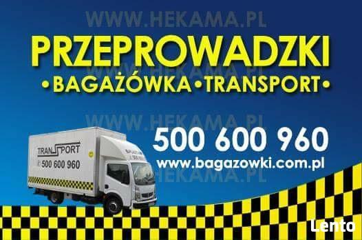 Bagażówka Gdańsk 500 600 960