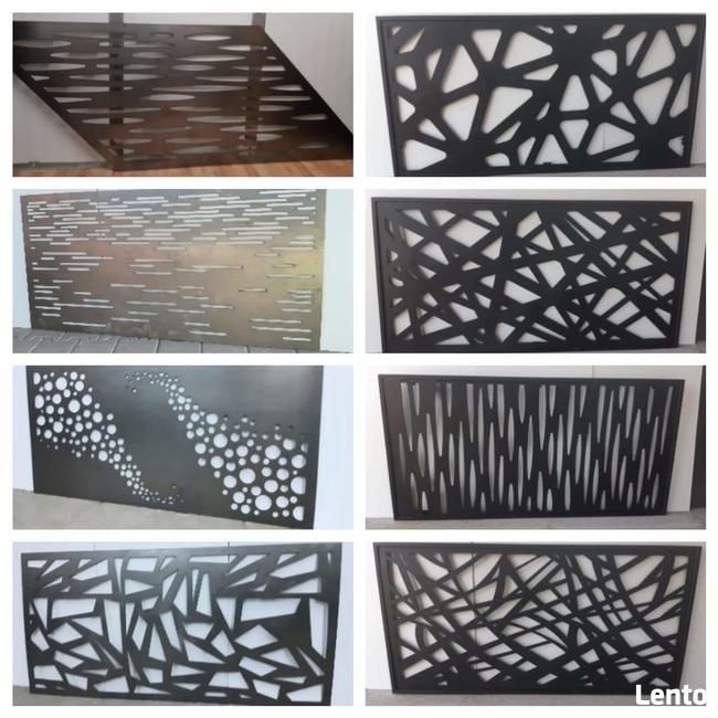 Ogrodzenie, balustrada, panele, wstawki