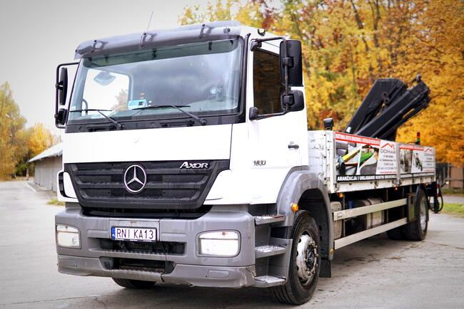 Mercedes Axor HDS HIAB