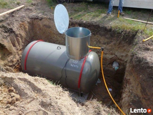 Zbiorniki gazowe(propan- butan) na własność.