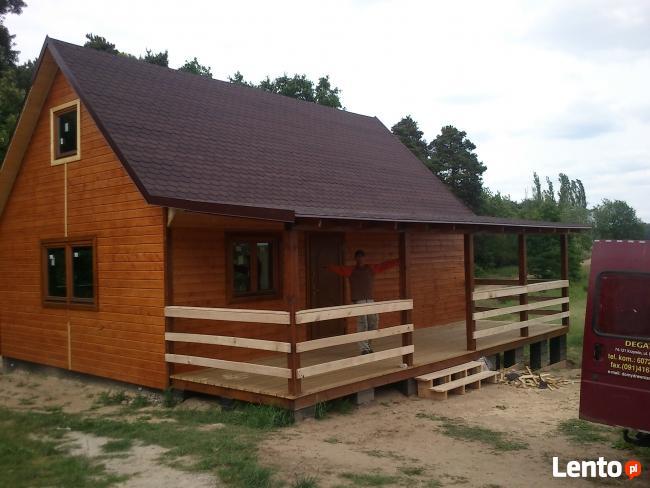Altanka Altana Altanki Domek Wiata Drewutnia Schody z drewna