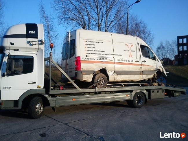 TRANSPORT NISKOPODWOZIOWY DO 23 TON, Transport Lawetami 6X2