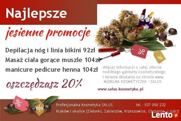 mobilna kosmetyczka - Kraków i okolice