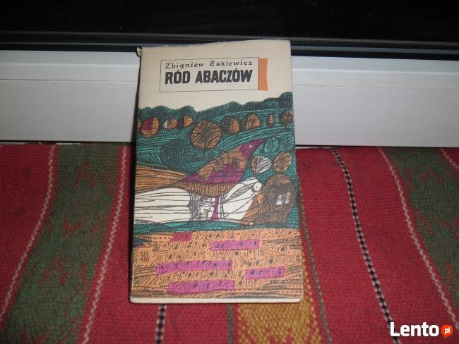 RÓD ABACZÓW autor: Zbigniew Żakiewicz