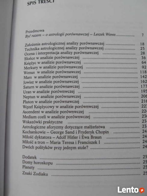 ZARYS ASTROLOGII PORÓWNAWCZEJ ALEXANDER von PRONAY