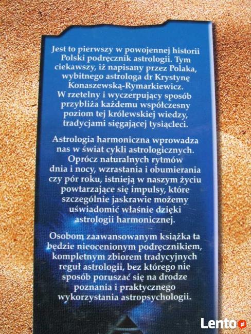 ASTROLOGIA HARMONICZNA Konaszewska - Rymarkiewicz