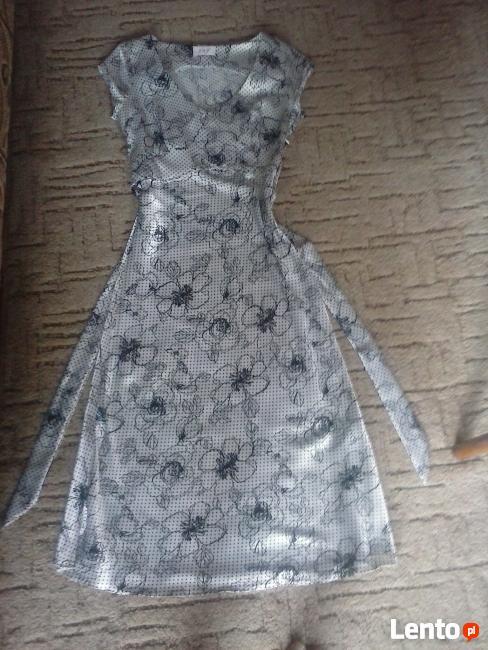 Sprzedam uroczą, zwiewną sukienkę r. 36