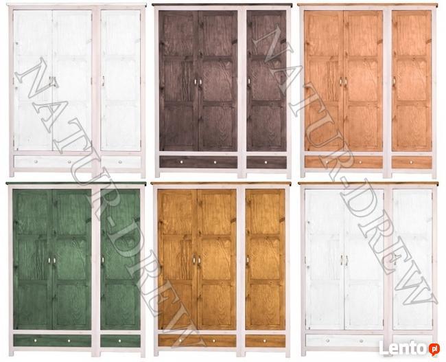 Szafa 3 z Kolekcji Modena Z LITEGO DREWNA,Meble Drewniane