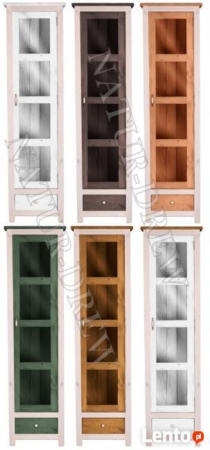 Witryna 3 z Kolekcji Modena Z LITEGO DREWNA,Meble Drewniane
