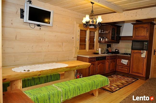 do wynajęcia piękny drewniany domek - Bacówka w górach