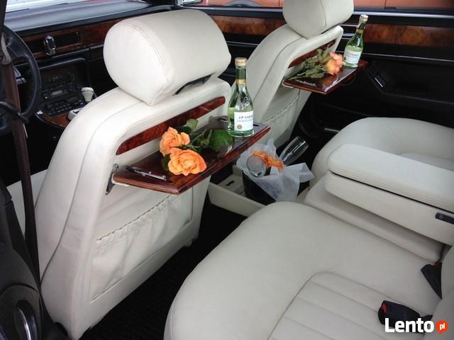 Auta do ślubu zabytkowe & luksusowe