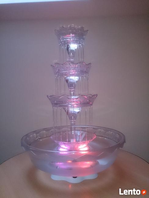 SHOWTEK Fontanna alkoholowa podświetlana LED