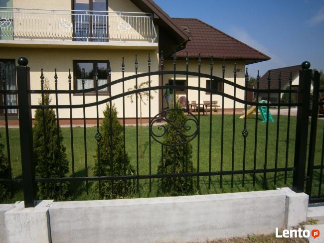 Ogrodzenie-przęsla-brama