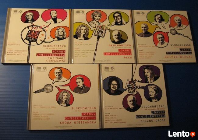 5 audiobooków Joanny Chmielewskiej