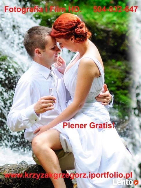Wideofilmowanie HD i fotografia ślubna Promocja!