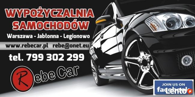 Rebe Car - wynajem aut Lotnisko Chopina Warszawa, Modlin