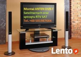Montaż Anten TV DVB-T i SATelitarnych dojazd CAŁY POWIAT