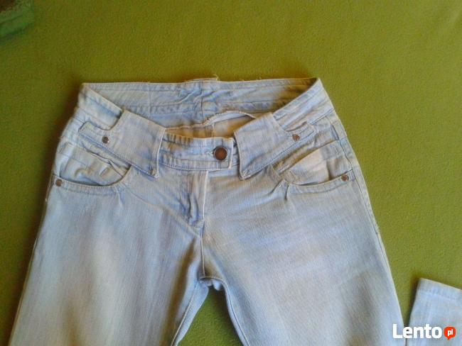 jeansy jasne S